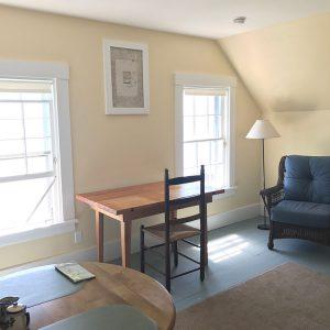 Living room - windows with ocean views