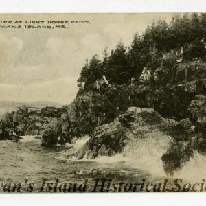 Lighthouse cliffs, around 1900