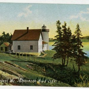 About 1903. Lower range light and passage are gone.