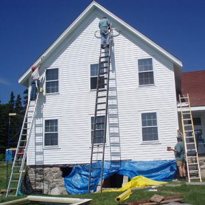 Volunteer painters
