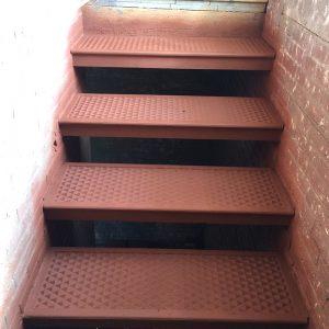Stairs repainted