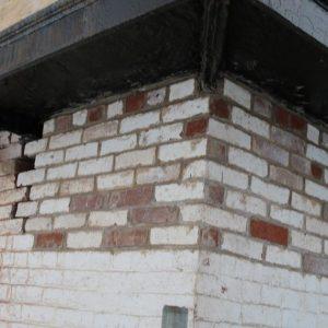 15. Bricks beneath platform replaced. Photo credit John Follis