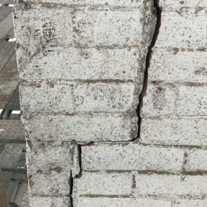 11. Bricks cracked and displaced (EC)