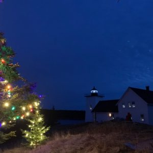 Holiday Lights on Hockamock Head Photos
